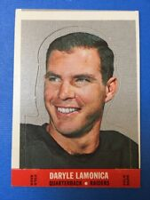 1968 Topps Football Stand-Up #13 DARYLE LAMONICA, Oakland Raiders, Vintage