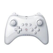 Qumox Contrôleur sans fil Gamepad Joypad Manette pour Nintendo Wii U Pro Blanc
