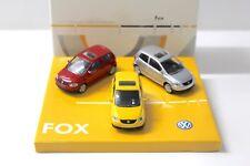 1:55 Norev VW FOX SET rot+gelb+silber BOX DEALER NEW bei PREMIUM-MODELCARS