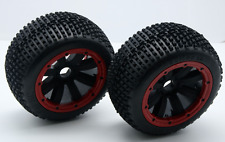 Rear Dirt Buster Wheel Tires 2pcs for 1/5 HPI Baja 5b RC Car Parts
