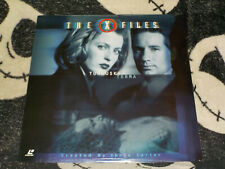 X-Files Tunguska/ Terma NEW SEALED Laserdisc LD Free Ship $30