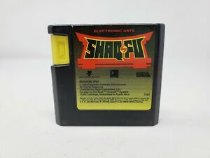 Shaq Fu (Sega Genesis) Tested Authentic