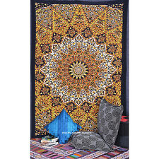 Twin Tapestries Bedspread Throw Ethnic Indian Star Wall Hanging Decor New Art