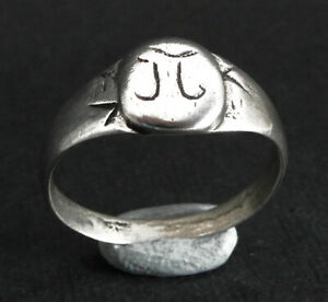 Genuine early Medieval/Viking silver ring - wearable