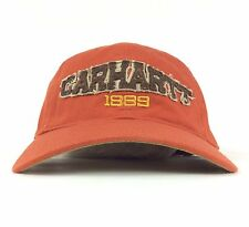 Carhartt 1889 Front Patch Logo Baseball Cap Adjustable Adult Size Cotton
