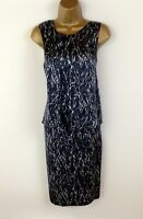 NEW Gerard Darel Dress Size 40 UK Size 12 Womens Blue Silk Shift Summer Holiday