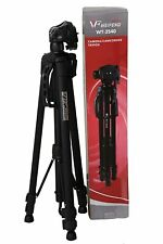 Tripod with Fluid Pan Head for Camera and Camcorder Photography