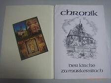 Cronología de la iglesia a marker Bach/Erzgebirge St. Barbara