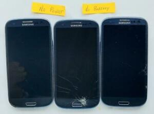 Lot of 3 Samsung Galaxy S3 SCH-I535 Smartphone ASIS (I535-LO..  - Fast Shipping!
