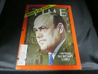 """Secretary of Defense"" Melvin Laird Signed Time Magazine Cover Todd Mueller COA"