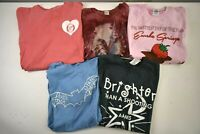 Women's Medium Mixed Lot of Various Brands Graphic Tee T-Shirts Lot of 5