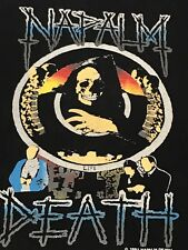 Napalm Death Vtg Tour Shirt Morbid Angel Cannibal Corpse Deicide Pantera Slayer