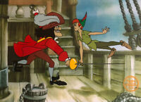 "Disney ""Peter Pan And Capt. Hook"" LIMITED EDITION Serigraph Cel"