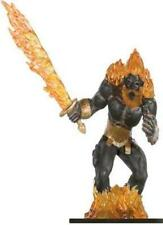 D+D miniatures 1x x1 Fire Titan Against the Giants HUGE NM with Card