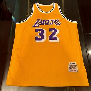 Lakers Magic Johnson Mitchell & Ness 1979-1980 Jersey #32