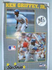 RARE KEN GRIFFEY JR MARINERS 1990 VINTAGE ORIGINAL STARLINE MLB POSTER