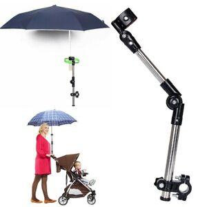 8 Ribs Anti-UV Sun Umbrella Stroller Pram Outdoor Parasol Umbrella Stand holder