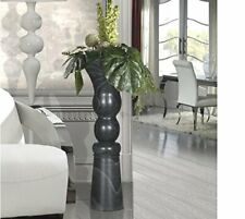 Schuller Luke Vase, Black, 85cm H x 34cm W x 34cm D