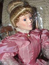 Vinatge Gorham 1992 Story Time Doll Rocking Chair by Lia Dileo NIB Smoke free
