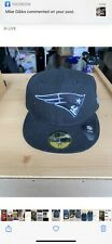New England Patriots New Era NFL League Basic Blk/Whi 59fifty,Fitted,Cap,Hat
