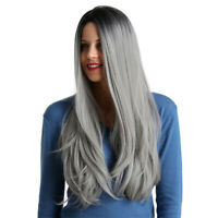 Synthetic Long Wavy Hair Wig Cosplay Party Costume Wig Heat Resistant 30Inch