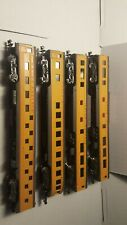 4x N Scale Con-Cor Union Pacific Cars 85' foot. Vintage Great Pieces 3 Types