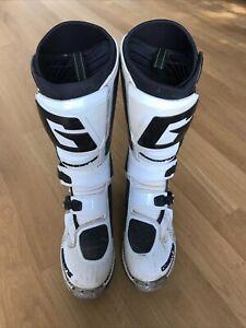 Gaerne SG12 Motocrossstiefel in weiß Gr. 47