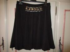 jupe noire ASTUCES femme T40 parfait état T. élastique