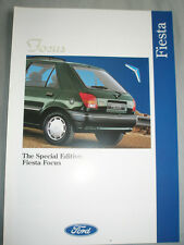 FORD FIESTA FOCUS opuscolo Oct 1993