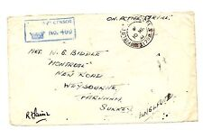 Military, War British Stamp Covers
