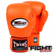 Twins Boxing Gloves - Orange - FREE P&P - Muay Thai, MMA, Boxing