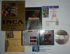 INCA PC 1992 Sierra MS-DOS Game CD Rom Version Complete in Box CIB
