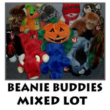 Ty Beanie Buddies - Mixed Lot of 10 Buddies (All Different) (10 to 15 inches)