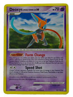 Deoxys Speed Forme 26/146 Rare Non Holo Legends Awakened NM+ with Tracking
