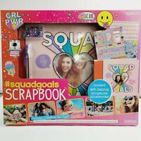 Girl's Scrapbook Kit  Squad-Goals ~ Girl Power ~ Ages 6+ Holiday/Christmas Gift