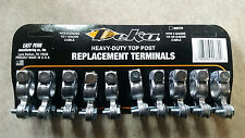 DEKA / EAST PENN HEAVY DUTY TOP POST REPLACEMENT TERMINALS - CARD OF 10