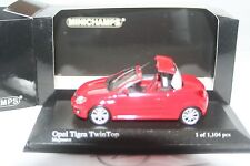 OPEL TIGRA TWIN TOP 2004 1/43  MINICHAMPS