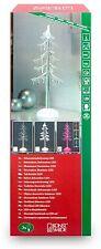 Konstsmide LED Acrylbaum klar Farbwechsel 3 bunte LEDs 45cm Trafo/Batterie