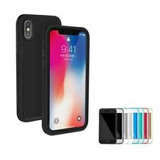 Waterproof Shockproof Case For iPhone 10 X 8 7 Plus 6s 5 Hybrid Rubber TPU Cover