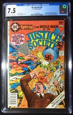 DC Special #29 CGC 7.5...Untold Origin of the Justice Society...Neal Adams cover