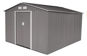 Evre XXL Garden Shed Outdoor Storage Patio With Lockable Door Strong Structure