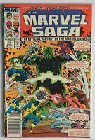 Marvel Saga #18 (May 1987, Marvel)