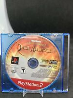 Baldur's Gate Dark Alliance (Disc Only) (Sony Playstation 2, PS2)