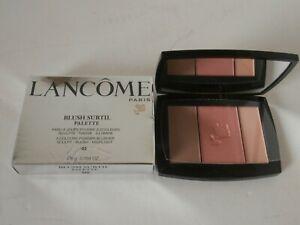 LancomePARIS Blush Subtil Palette 3 colours ROSE FLUSH - NECTAR LACE Blusher