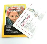 National Geographic Vol. 149, No. 2 February 1976 English + Map Supplement 360EA
