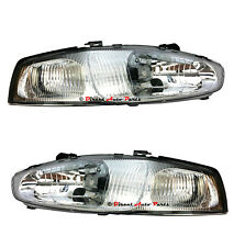 *NEW* HEAD LIGHT LAMP for MITSUBISHI LANCER MIRAGE CE COUPE 2DR 1998 - 2003 PAIR