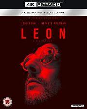 Leon Director's Cut Natalie Portman 4K Ultra HD UHD + Blu-ray (New Sealed 4K)