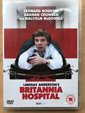 Britanna Hospital 1982 British Mick Travis Trilogy Finale Classic Rare UK DVD