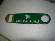 Moosehead Beer Bottle Opener Open End Wrench Style Soft Grip Handel New