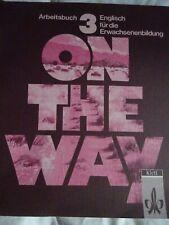 Klett Verlag  Englisch Erwachsenenbildung On the way 3 Arbeitsbuch Lehrbuch